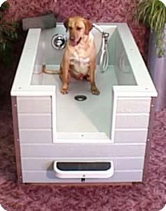 New Breed Dog Baths   Model Information   Fiberglass Dog Bath